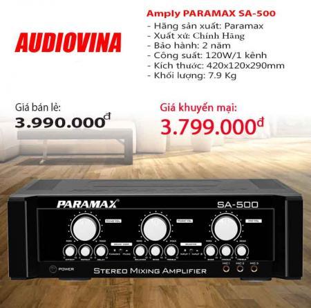 Amply karaoke Paramax SA-500
