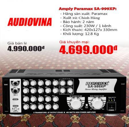 Amply Paramax SA-999 XP