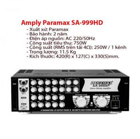 Amply paramax SA 999HD