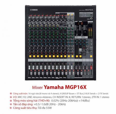 Bàn Mixer Yamaha MG124C