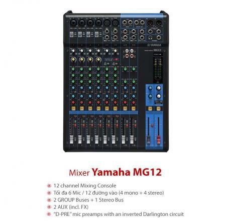 Bàn mixer Yamaha MG12