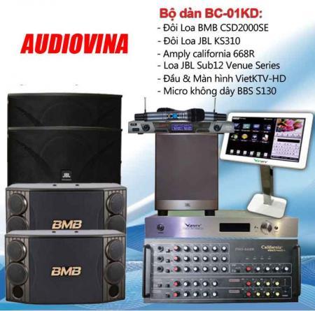 Bộ dàn karaoke BC-01KD