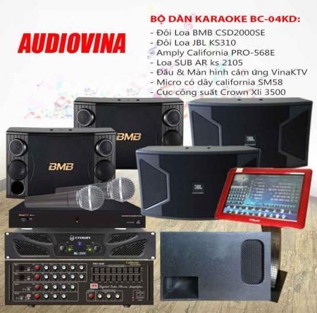 Bộ dàn karaoke BC-04KD