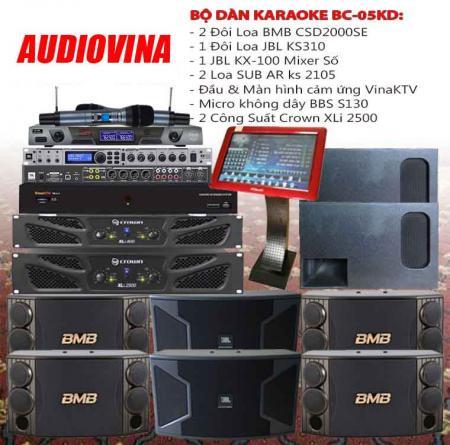 Bộ dàn karaoke BC-05KD