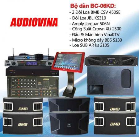 Bộ dàn karaoke BC-06KD
