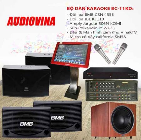 Bộ dàn karaoke BC-11KD