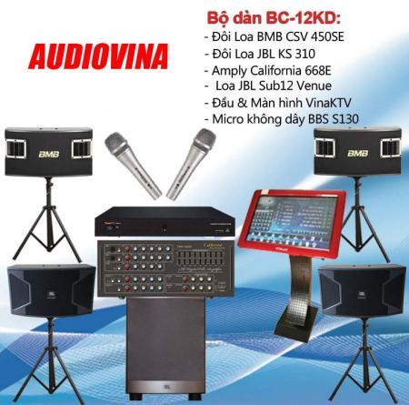 Bộ dàn karaoke BC-12KD