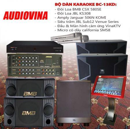 Bộ dàn karaoke BC-13KD