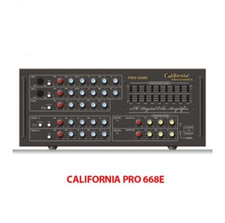 California Pro 668E