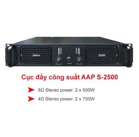 Cục đẩy công suất AAP Audio S-2500