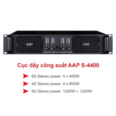 Cục đẩy công suất AAP Audio S-4400