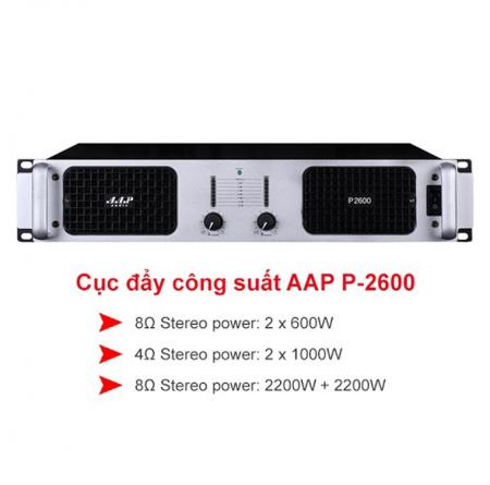 Cục đẩy công suất AAP P-2600