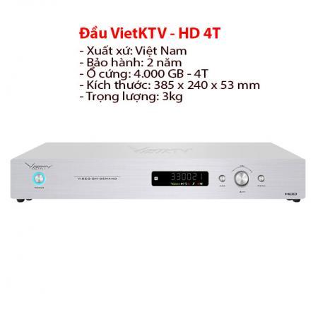 Đầu karaoke Vietktv HD Plus 4T
