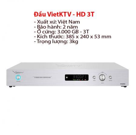 Đầu Việt KTV HD Plus 3TB