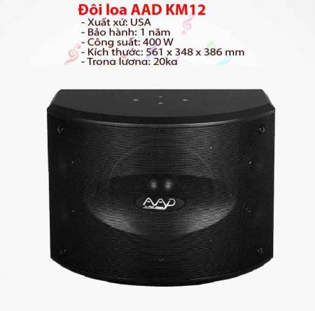 Loa karaoke AAD KM 12