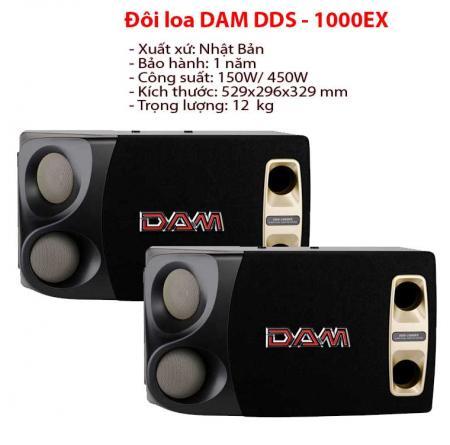 Loa karaoke DAM DDS 1000EX