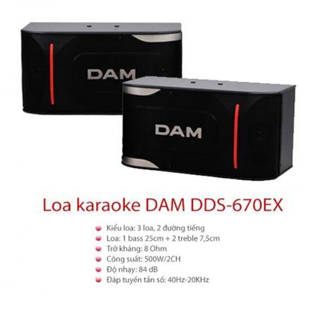 Loa karaoke DAM DDS-670EX