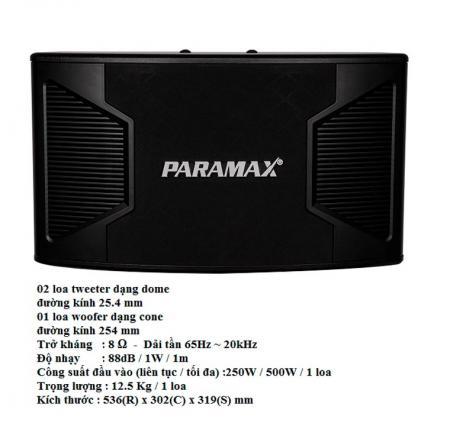 Loa karaoke Paramax P 1500