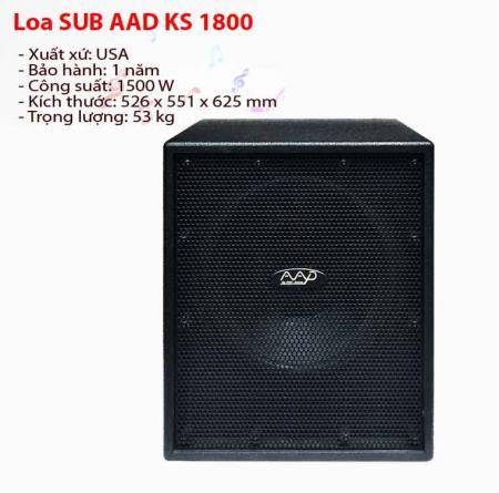 Loa siêu trầm AAD KS 1800