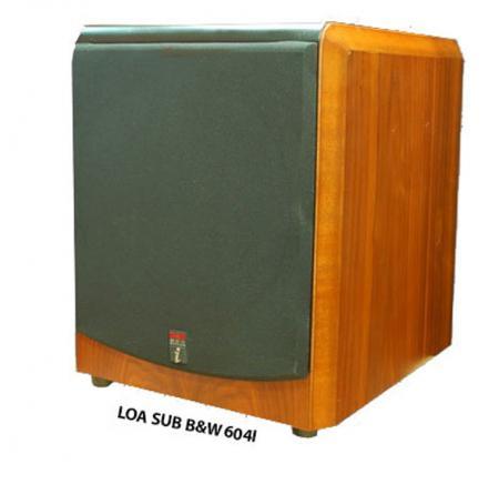 Loa Sub B&W 604I