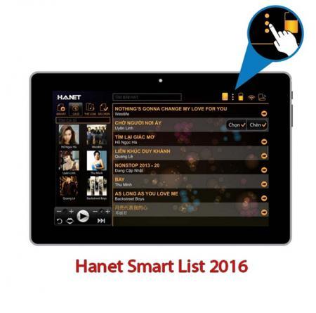 Máy tính bảng Hanet Smart list 2016