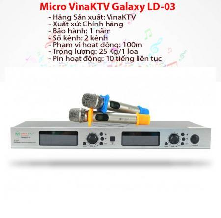 Micro karaoke VinaKTV GalaxyLD-03