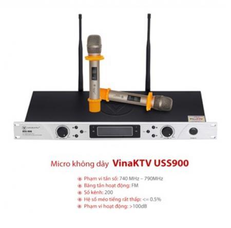 Micro karaoke VinaKTV USS 900