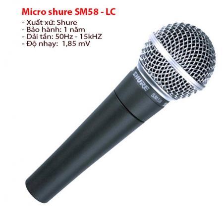 Micro shure SM58 - LC