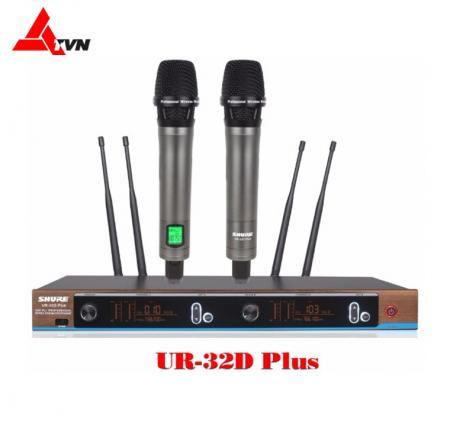 Micro Shure UR 32D plusmicro cao cấp nhất của shure