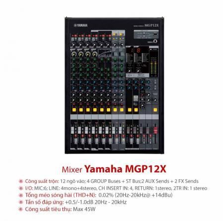 Mixer Yamaha MGP 12X