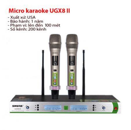 Shure UGX8 II