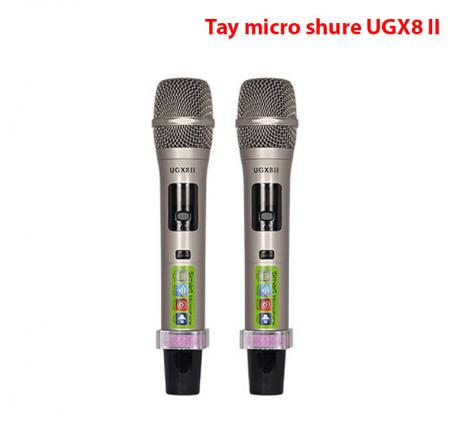 Tay cầm micro shure UGX8 II